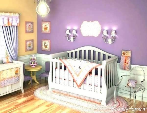 ایده هایی برای طراحی اتاق نوزاد دختر