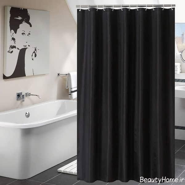 پرده رنک تیره مخصوص حمام