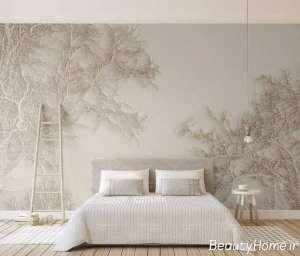 دکوراسیون رنگ بژ برای اتاق خواب