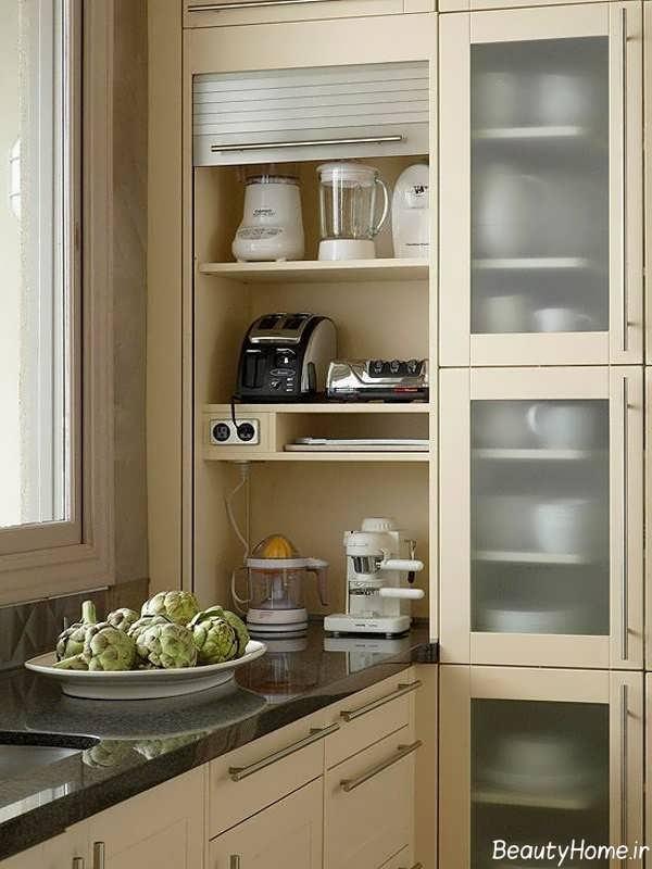 چیدمان کاربردی کابینت آشپزخانه