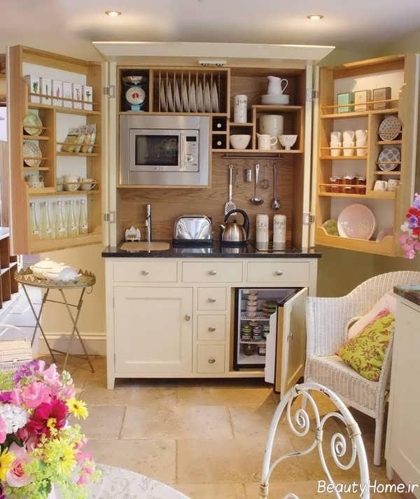 چیدمان داخلی کابینت آشپزخانه