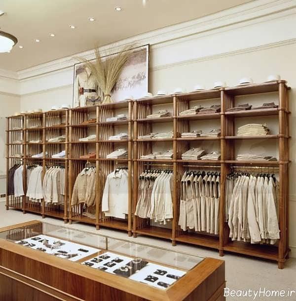 دکوراسیون فروشگاه لباس مردانه