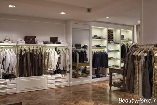طراحی مغازه پوشاک مردانه