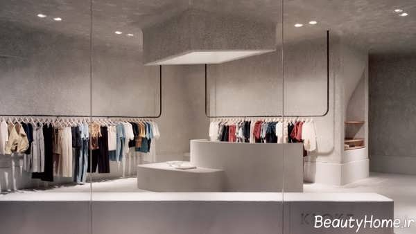 دکوراسیون فروشگاه پوشاک زنانه و مردانه