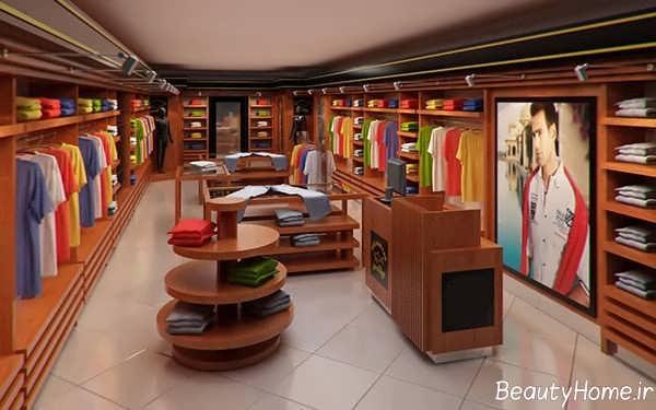 دکوراسیون مغازه لباس فروشی