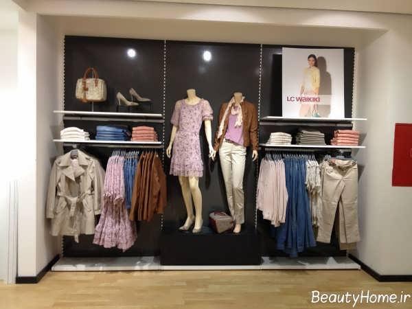 دکوراسیون فروشگاه پوشاک با ایده های خلاقانه