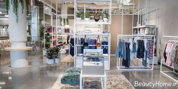 دکوراسیون مغازه لباس زنانه