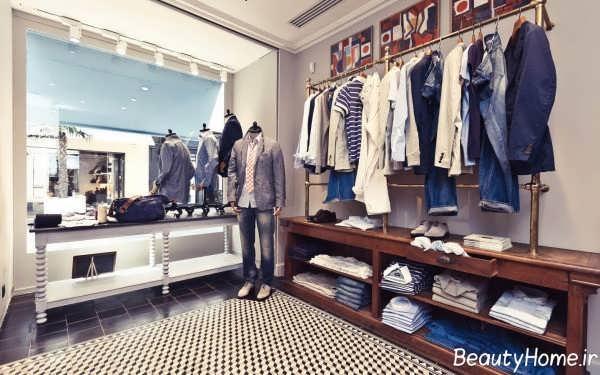 طراحی زیبا و شیک فروشگاه لباس