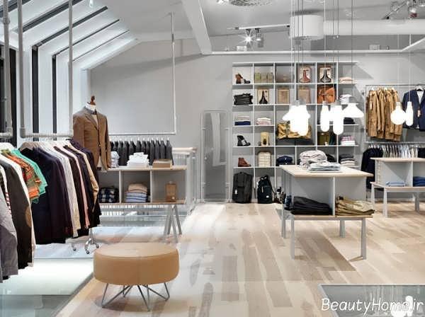 طراحی دکوراسیون مغازه پوشاک