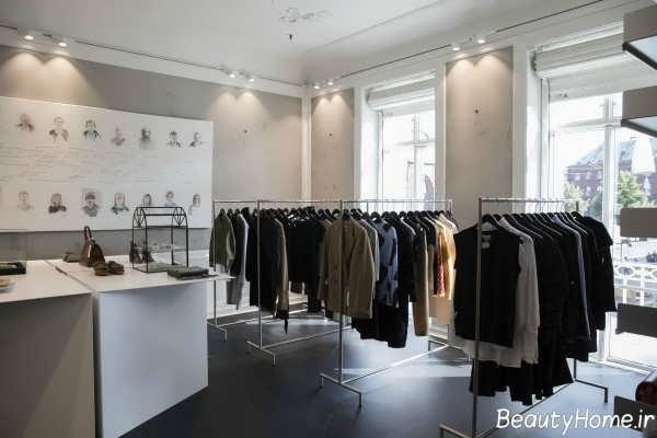 دیزاین داخلی فروشگاه پوشاک