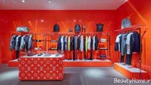 دیزاین داخلی فروشگاه پوشاک زنانه