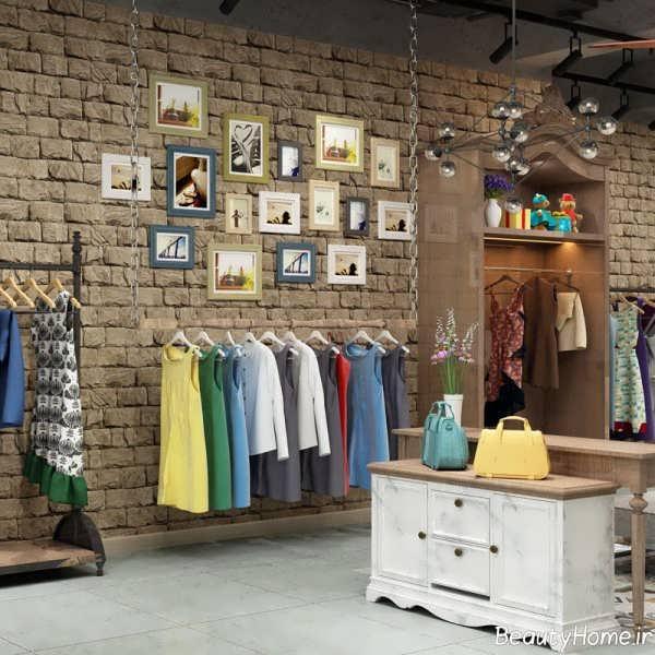 طراحی مغازه پوشاک