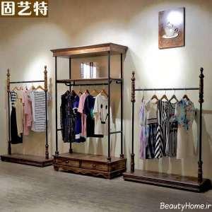 طراحی زیبا و شیک مغازه پوشاک