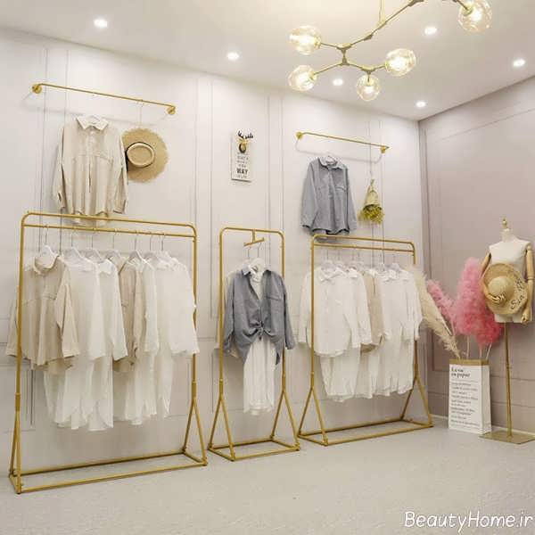نورپردازی مغازه پوشاک زنانه
