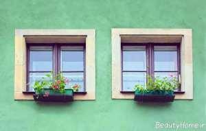 مدل پنجره دوجداره ساده