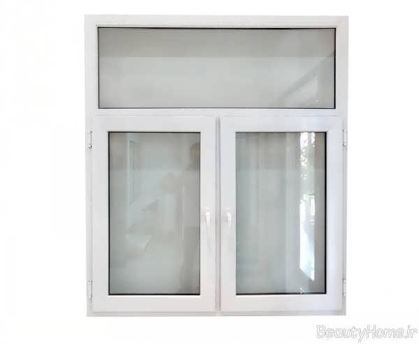 پنجره دوجداره upvc کوچک