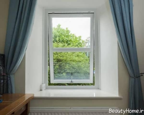 مدل پنجره دوجداره upvc اتاق خواب