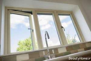 مدل پنجره دوجداره آشپزخانه