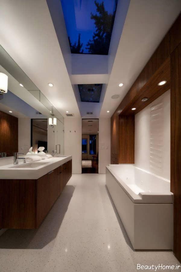 مدل سقف کاذب برای حمام