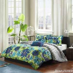 طراحی اتاق خواب سبز