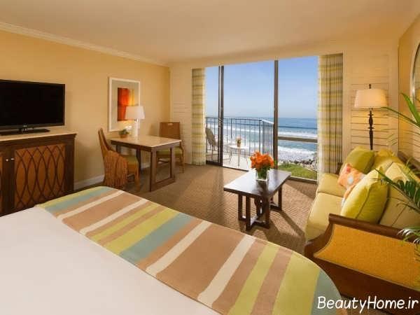 طراحی داخلی اتاق هتل