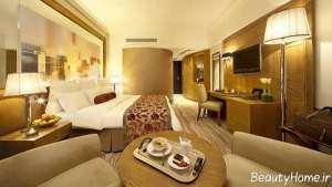 طراحی نورپردازی اتاق هتل