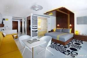 دیزاین داخلی اتاق هتل