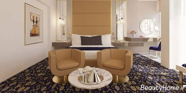 دکوراسیون داخلی اتاق هتل