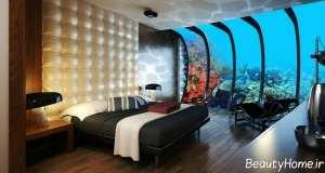 طراحی زیبا و شیک اتاق هتل