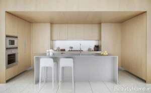 جزیره ساده آشپزخانه