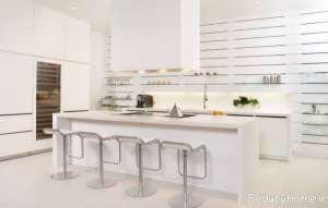 جزیره آشپزخانه ساده