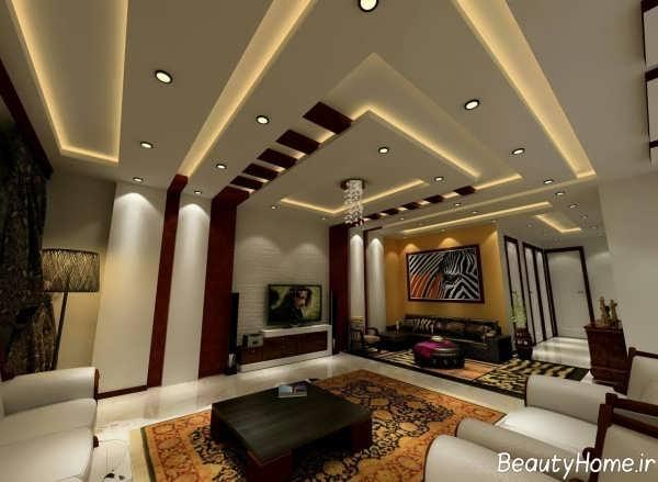 دیزاین نورپردازی سقف