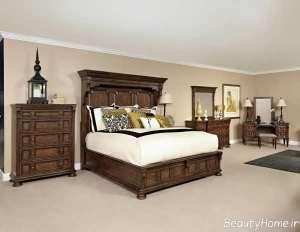 سرویس خواب چوبی و کلاسیک