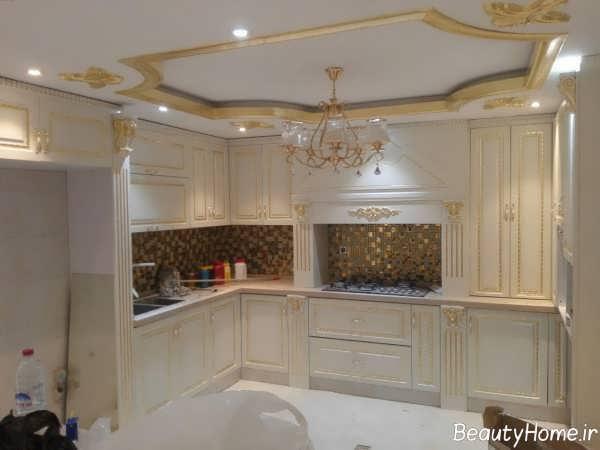 آشپزخانه کلاسیک و شیک