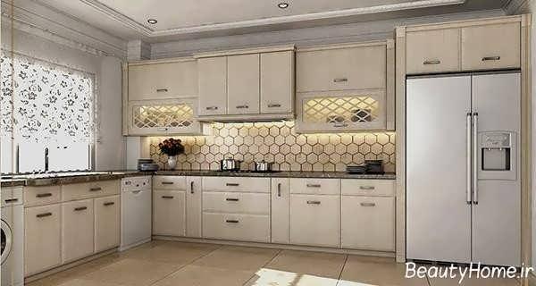دیزاین آشپزخانه کلاسیک