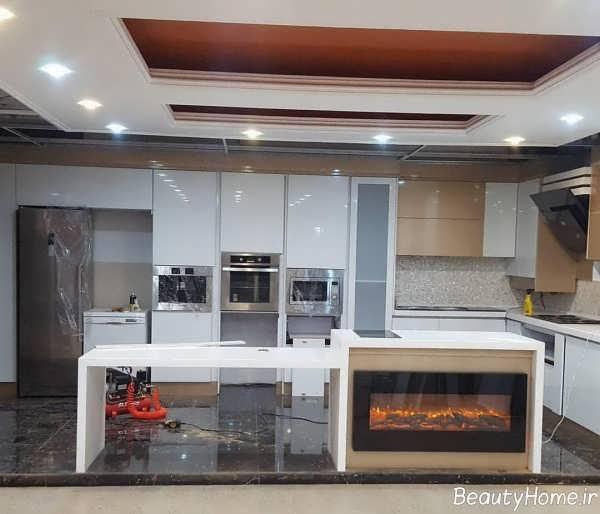 نورپردازی آشپزخانه ایرانی