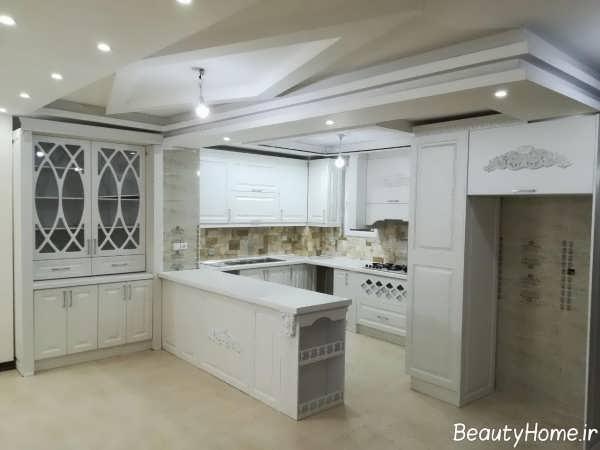 آشپزخانه شیک و کلاسیک