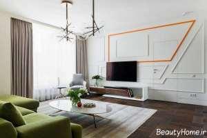 مدل میز تلویزیون دیواری مدرن