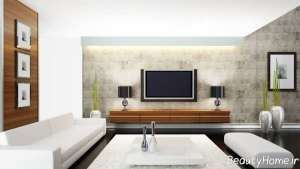 طرح میز تلویزیون ساده