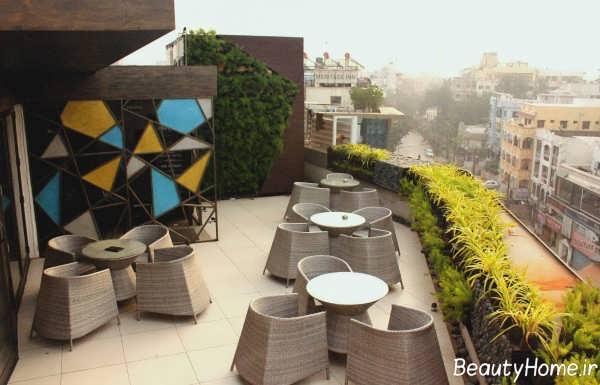 طراحی فضای بیرونی کافی شاپ