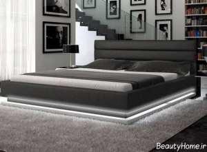 طرح تخت خواب زیبا