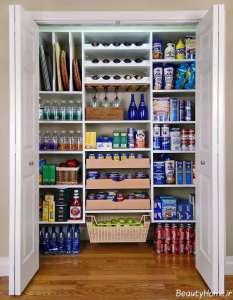 کابینت سوپری شیک برای آشپزخانه