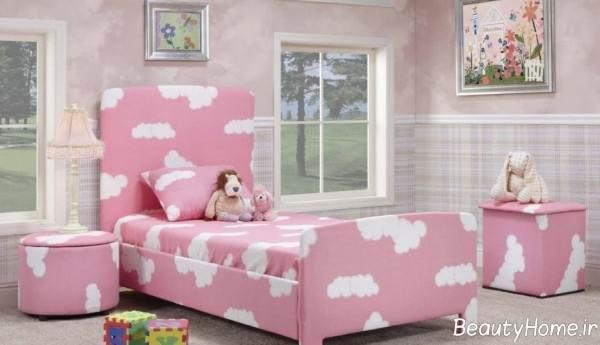 دکوراسیون صورتی اتاق کودک