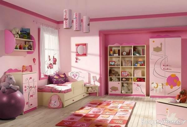 دکوراسیون کاربردی اتاق کودک