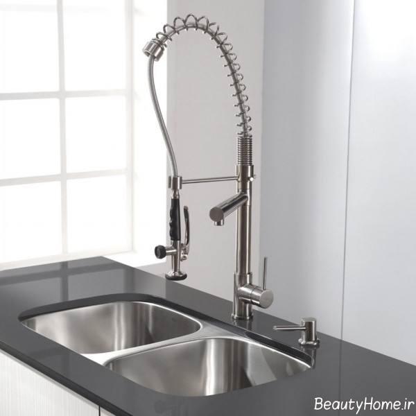 طرح زیبا شیر آب
