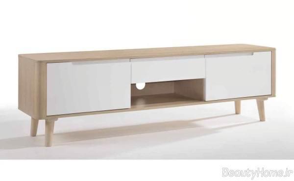 میز ال سی دی سفید