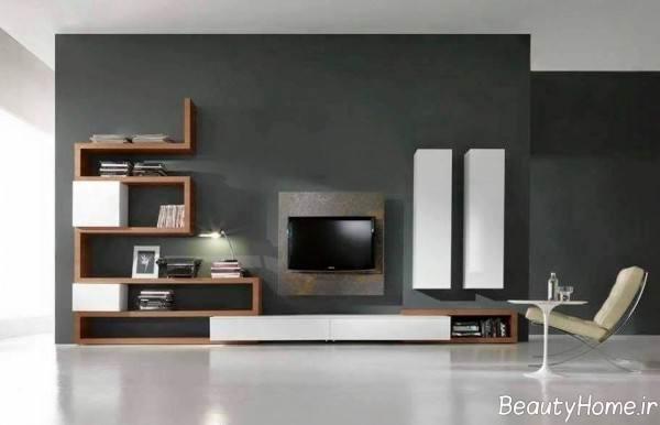 میز تلویزیون دیواری زیبا