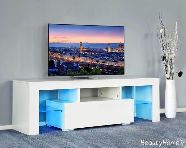 میز تلویزیون سفید 2020