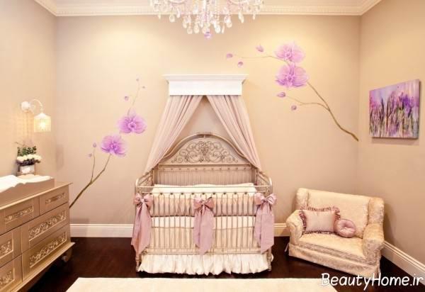 طراحی اتاق خواب نوزاد