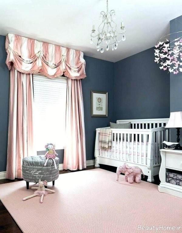 دیزاین اتاق نوزاد با ایده های خلاقانه